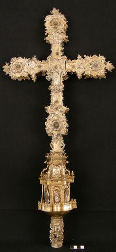 Processional Cross, XVI century, Diocesan Museum of Barbastro- Monzon, Spain