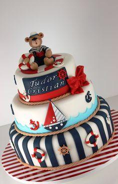 viorica's cakes: Torturi cu tema navy