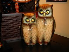 owl TV lamp