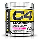 #10: Cellucor C4 Pre Workout Supplements with Creatine, Nitric Oxide, Beta Alanine and Energy, 30 Servings, Watermelon #health #ad