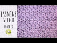 As you all know there area unit a various recent and new stitches in a very inventive world of knitting and crochet. Even as a prove of my words, this is step by step tutorial without missing details to crochet this amazing jasmine stitch that may provides a fabulous look to any project you choose to form in future. Stitch Crochet, Crochet Stitches Free, Crochet Stitches For Beginners, Crochet Videos, Crochet Hooks, Crochet Patterns, Knit Crochet, Crochet Stars, Crochet Flowers