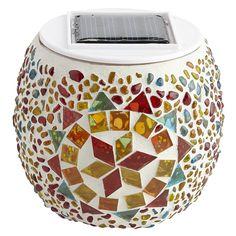 Kaleidoscope Solar Sphere LED | Pier 1 Imports