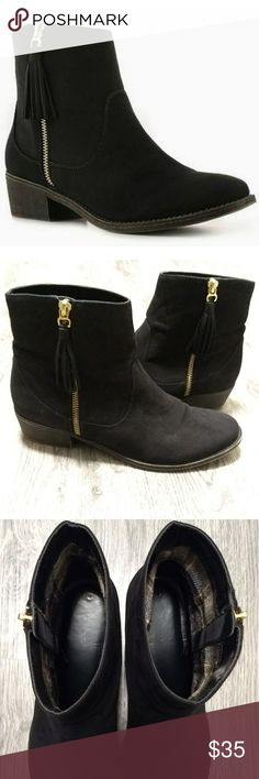 Diba Candy Bootie GUC! Super cute casual bootie with dresses or jeans! 1.5 inch heel. Diba Shoes Ankle Boots & Booties