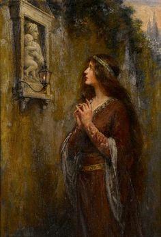 Brownscombe, Jennie Augusta (b,1850)- Shrine -2b