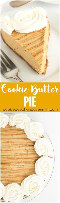 Cookie Butter Pie -a