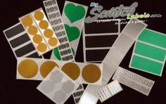 Test de divers prototypes de stickers à gratter chez Myscratchlabels ...