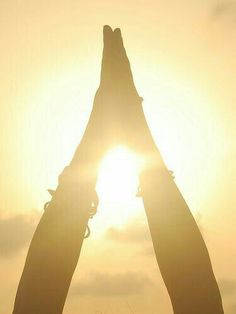 ~ Sun Salute ~ Namaste