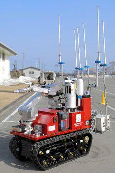 Robot mini fire engine