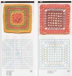 Mini squares with diagrams, page #26