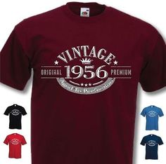 60th Birthday Vintage Year T-Shirt - Funny Novelty Gift Ideas for Men Him - New | T-Shirts | Men's Clothing - Zeppy.io