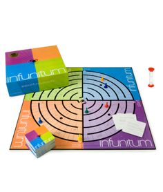 INFUNITUM GAME !!! Super fun for hosting small parties, family game nights, even drinking games!!!