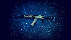Download AK 47 Vulcan Assault Rifle CSGO Skin 1920x1200