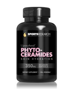 Oral ingestion of 350 mg of Sports Research's Lipowheat phytoceramides per day ensures hydration, comfort and skin beauty.   Buy one now at Amazon: http://ow.ly/pTDXc  #womanskincare #phytoceramides #beautytips