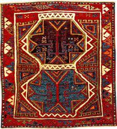 Star Karapinar Rug, Central Anatolia Konya-Area, 19th century, wool/wool