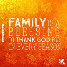 The Blessing of Family