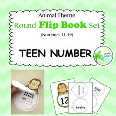 This simple cut and staple activity focuses on connecting number names, numerals and quantities. One round page has intentionally been left blank to allow students to represent the teen number in their own way. A perfect activity for math rotations. Math Rotations, Teen Numbers, Tens And Ones, Teacher Pay Teachers, Flipping, Maths, Teaching, Activities, Education