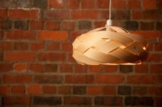 Couple Handcrafts Spectacular Minnow Light Shades with Responsible New Zealand Pine Veneer