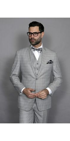 If you are searching for any type of classic menswear, it is better to choose us. We are the best online shopping service provider with a large variety of collections. Three Piece Suit, Beard No Mustache, Men Online, Online Shopping Stores, Mens Suits, Party Wear, Suit Jacket, Menswear, Plaid
