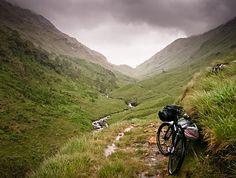 Coal-Ghleann, Bikepacking trip through Scotland