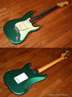 1962 Fender Stratocaster Sherwood Green FEE0029 | eBay
