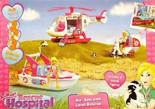 Animagic Rescue Hospital Land and Sea Rescue Set + 6 animal figures * BRAND NEW*