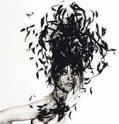 Irving Penn  'Woman in Feather Hat'  New York, 1991