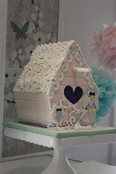 bird house cake   Flickr - Photo Sharing!