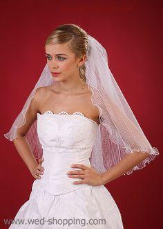 Wedding Veil - frilly tulle
