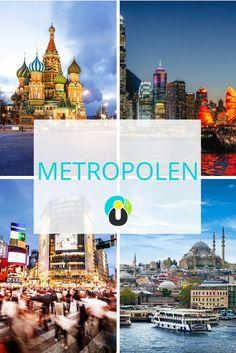 Tokio, Moskau, Istanbul, New York, Seoul und Mexiko Stadt gehören zu den größten Metropolen der Welt. Doch auch andere Millionen- oder Hauptstädte sind einfach der Hammer. Auf diesem Board erfahrt ihr alles über die lebendigsten Städte der Welt.