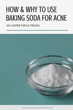 Discover how and why to use baking soda for acne.