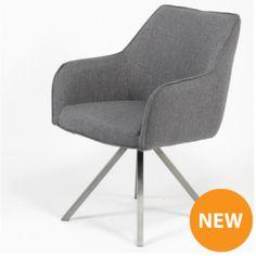 Manhattan Spisestol - Mørk grå - 2 stk Manhattan, Chair, Furniture, Design, Home Decor, Modern, Decoration Home, Room Decor
