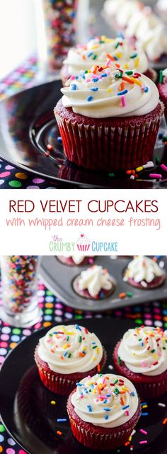 Literally the best Red Velvet Cupcake recipe in the entire world! Moist and flavorful, you can actually taste the chocolate & vanilla notes in the classic buttermilk batter.
