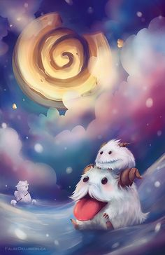 Poro wants Cookie by FalseDelusion.deviantart.com on @DeviantArt
