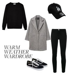 """Warm weather wardrobe"" by jewel-mt on Polyvore featuring Frame, MANGO, New Era and J.Crew"