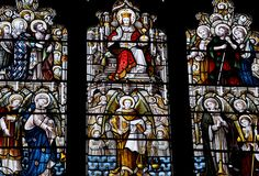 Cropredy-187 St Mary East window of south chapel. Does anyone know the maker?