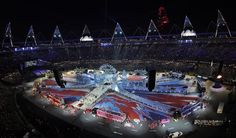 London Olympics 2012: Closing ceremony