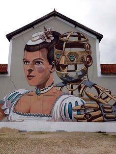 Work from Pixel Pancho in Lisbon, Portugal #pixelpancho #lisbon #streetart…