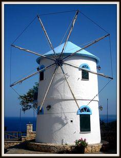 Windmill house by Voula Desilla