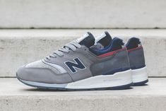 Did New Balance and Woolrich Clock the 997  - Sneaker Freaker 71a3e9f348e