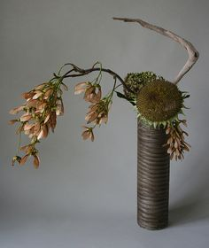End of summer ikebana | Flickr - Photo Sharing!