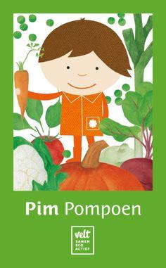 Pim Pompoen-kwartetspel