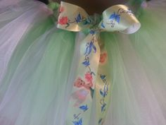 TInkerbell Tutu by ShirleyTemplesTutus on Etsy, $26.00
