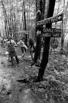 Groovy Way, Woodstock Music & Art Fair, Bethel, NY, 1969, Baron Wolman