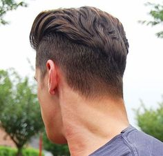 Slicked Back, Disconnected Undercut