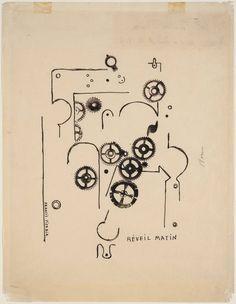 Francis Picabia - Alarm Clock (1919)