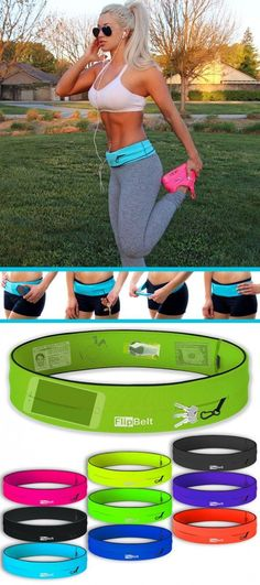 My Favorite Workout Accessory! It Holds Everything I Need Without Weighing Me… Fitness Nutrition, Fitness Tips, Fitness Motivation, Workout Attire, Workout Wear, Keep Fit, Stay Fit, Running Belt For Phone, Flip Belt