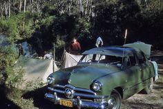 Vintage camping photos via the ModCloth Blog