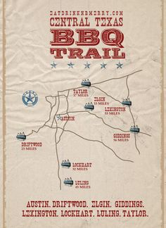 Texas BBQ joints around Austin