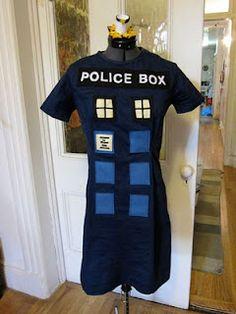 TARDIS Dress Halloween Costume | The Zen of Making