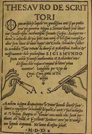 Place and date from added title on t.p. verso. It reads: Il modo & regola de scriuere littera corsiua ouer cancellarescha nouamente composto per Lvdovico...